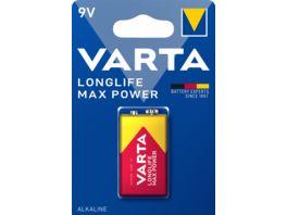 VARTA MAX TECH Alkalinebatterie E Block 9V 1 Stueck