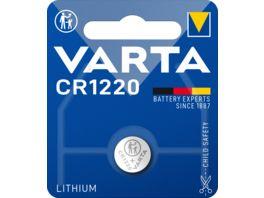 VARTA ELECTRONICS Knopfzelle Lithium CR 1220 3V 1 Stueck
