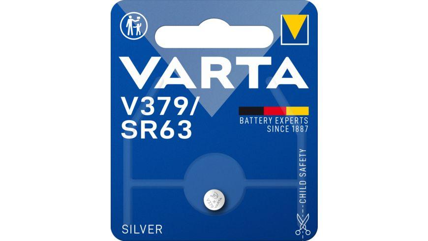 VARTA ELECTRONICS Knopfzelle Silberoxid V 379 1 Stueck