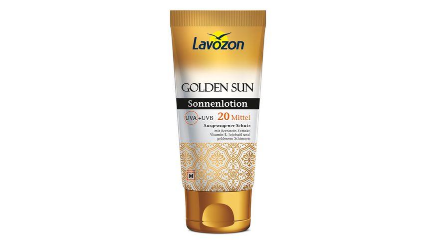 Lavozon Golden Sun Sonnenlotion LSF 20