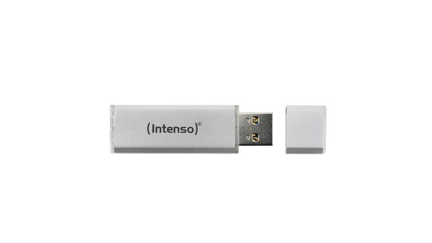 Intenso USB Stick Alu Line 16 GB Silber