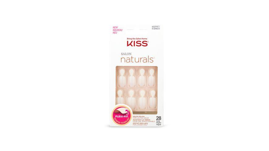 KISS Salon Natural Nail Double Take