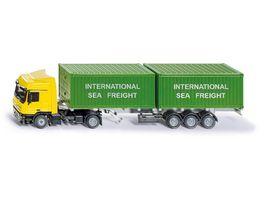 SIKU 3921 Super LKW mit Container