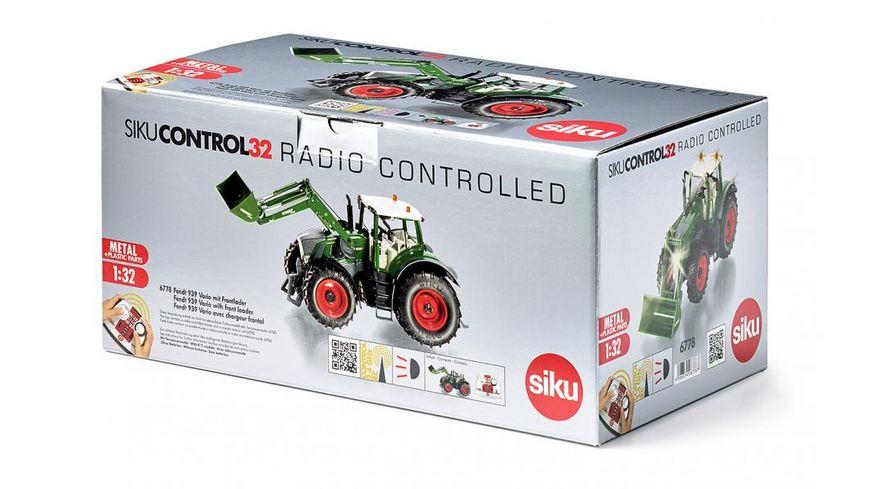 SIKU 6778 Control 32 Fendt 939 Vario mit Frontlader und Fernsteuermodul