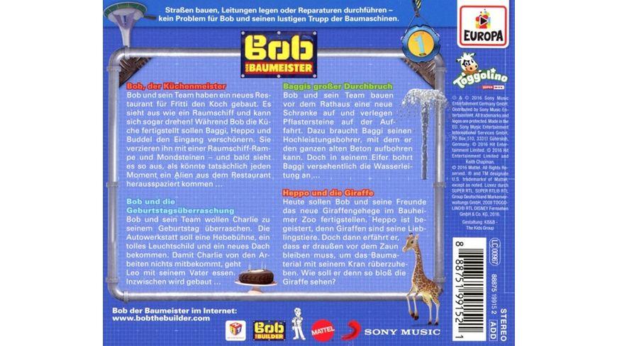 001 Bob der Kuechenmeister
