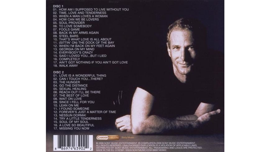 The Soul Provider The Best Of Michael Bolton