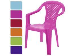Koopman Kinderstuhl 6 farbig sortiert