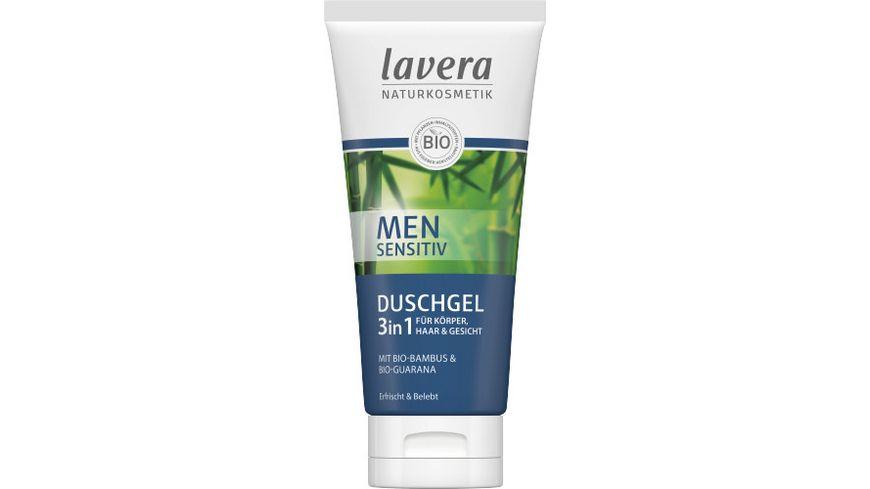 lavera Men sensitiv Duschgel 3in1