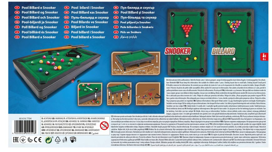 Simba Games and More Pool Billard und Snooker