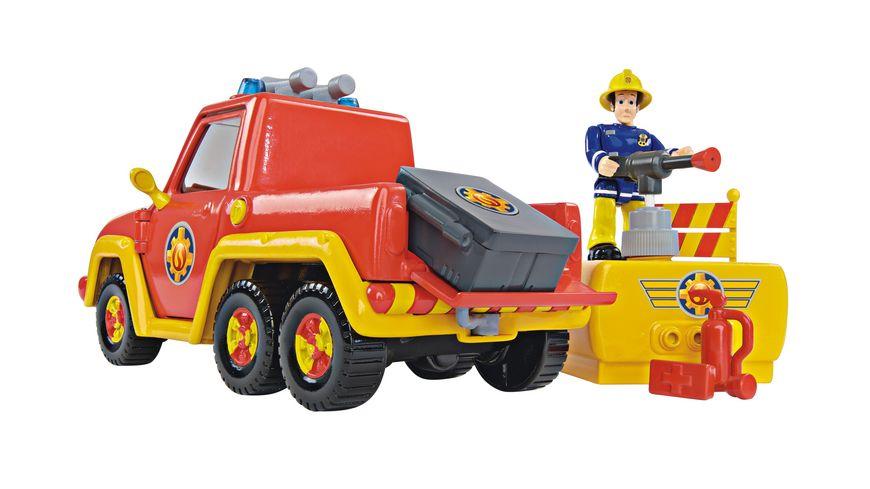 Simba Feuerwehrmann Sam Feuerwehrauto Venus mit Figur