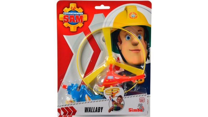 Simba Feuerwehrmann Sam Wallaby Flugspiel