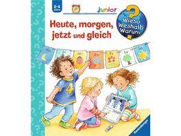 Ravensburger Wieso Weshalb Warum Junior Heute morgen jetzt und gleich