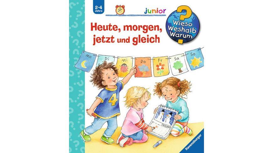 Ravensburger Buch - Wieso? Weshalb? Warum? - Junior - Heute, morgen, jetzt und gleich