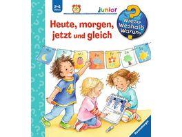 Ravensburger Buch Wieso Weshalb Warum Junior Heute morgen jetzt und gleich