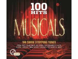 100 Hits Musicals Digipack