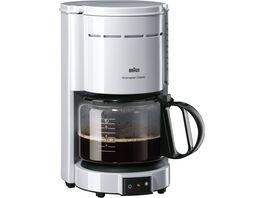BRAUN Kaffeemaschine KF47 1 WH