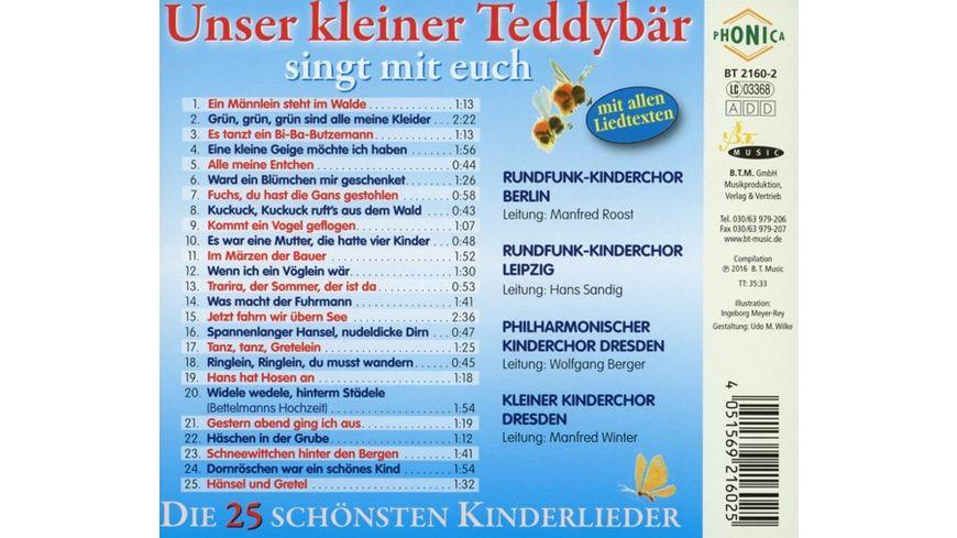 Unser kleiner Teddybaer singt mit euch