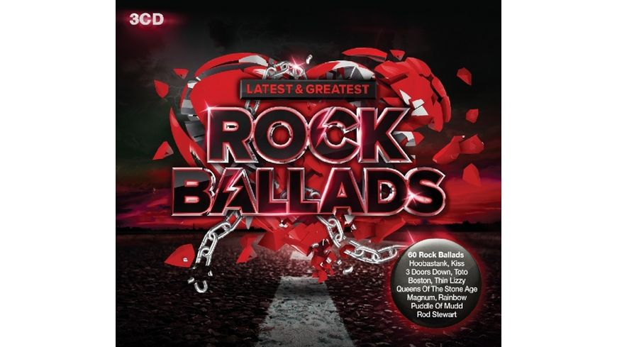 Rock Ballads Latest Greatest