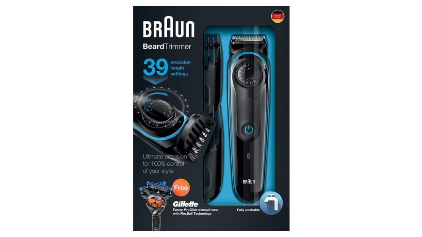 BRAUN Barttrimmer BEARD HEAD Z6 BT3040