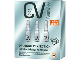 CV ANTI AGE DIAMOND PERFECTION Sofort Anti Falten Konzentrat