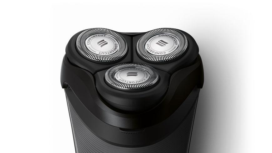 Philips elektrischer Trockenrasierer S3110 06 schwarz