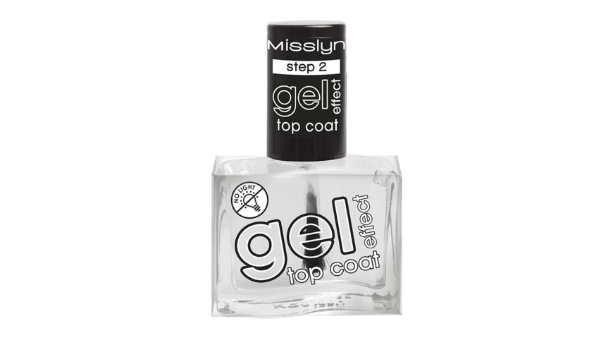 Misslyn Gel Effect Duo Top Coat