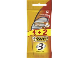 BIC 3 Rasierer Sensitive 4 2 Stueck