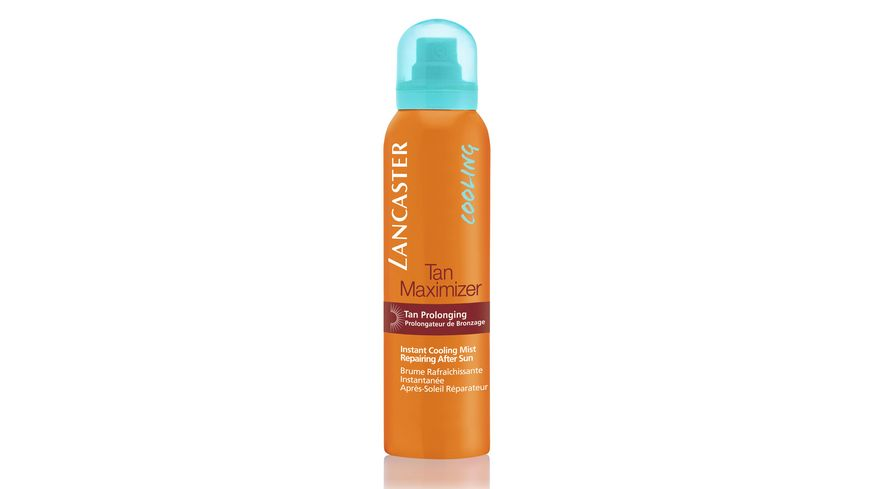 LANCASTER After Sun Tan Maximizer Instant Cooling Mist Repairing Spray