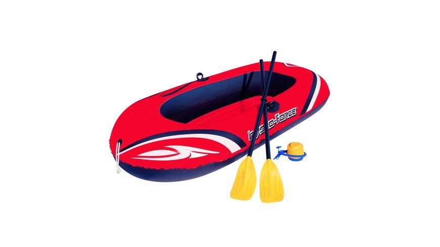 """Bestway - """"Hydro-Force™ Raft Set"""" Boot 188 x 98 cm mit Blasebalg und 2 Paddeln"""