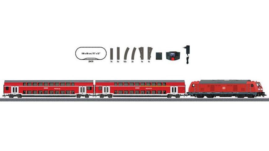 Maerklin 29479 Digital Startpackung Regional Express 230 Volt H0 VI DB AG