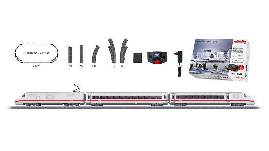 Maerklin 29792 Digital Startpackung ICE 2 230 Volt H0 V DB AG