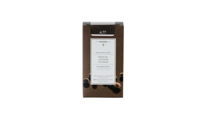 KORRES Argan Oil Advanced Colorant Dark Chocolate