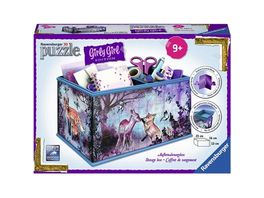 Ravensburger Puzzle 3D Puzzles Girly Girl Edition Aufbewahrungsbox Animal Trend 216 Teile
