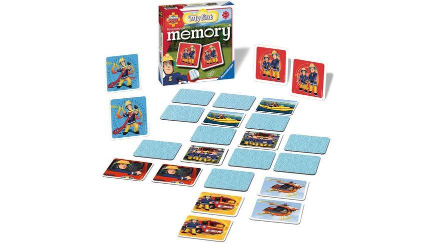 Ravensburger Spiel Fireman Sam Mein erstes memory