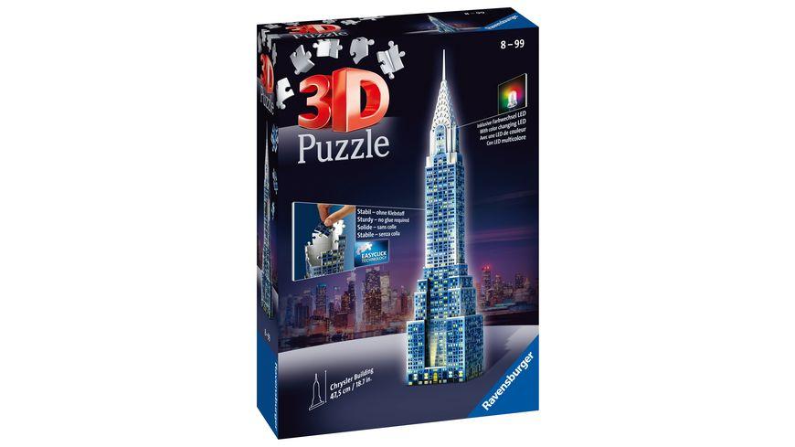 Ravensburger Puzzle 3D Puzzle Chrysler Building 216 Teile