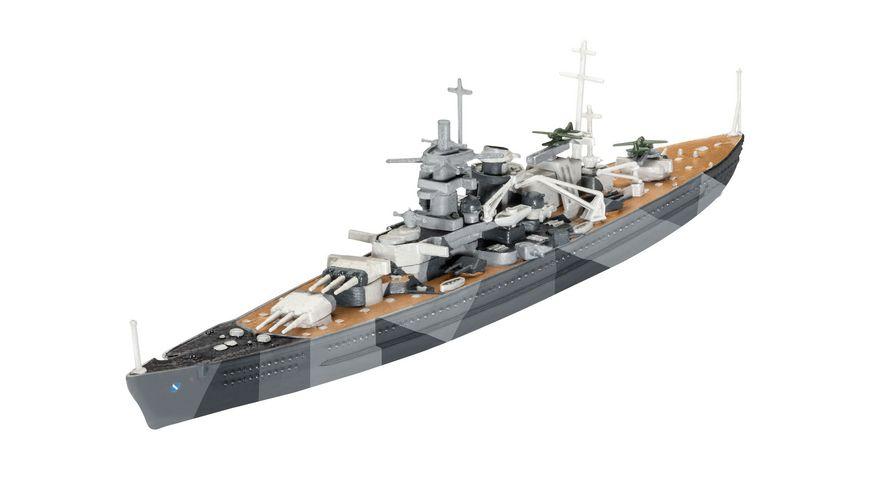 Revell 65136 Modellbau Model Sets Model Set Battleship Scharnhorst