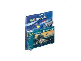 Revell 65136 Modellbau Model Sets Model Set Battleship Scharnhorst