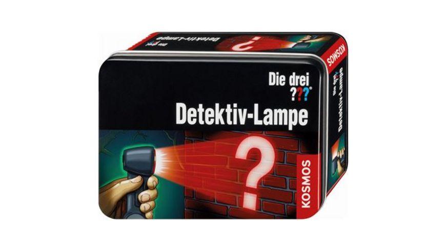 KOSMOS Die drei Detektiv Lampe
