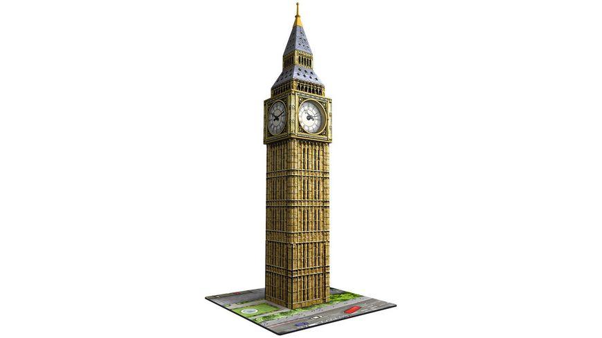 Ravensburger Puzzle 3D Vision Puzzle Big Ben mit Uhr 216 Teile