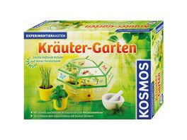 KOSMOS Experimentierkaesten Kraeuter Garten