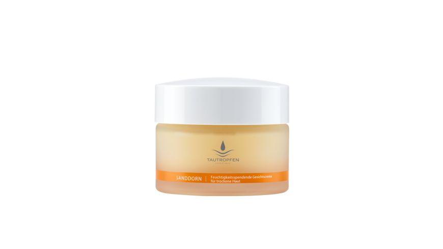 TAUTROPFEN Nourishing Solutions Sanddorn Feuchtigkeitsspendende Gesichtscreme