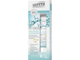 lavera basis sensitiv Anti Falten Augencreme Q10