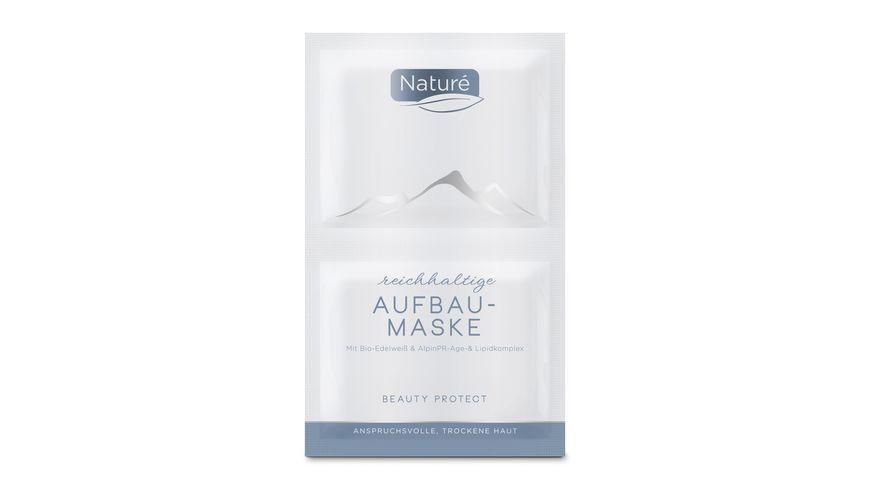 Nature reichhaltige Aufbaumaske Beauty Protect