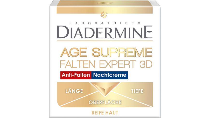 DIADERMINE FALTEN EXPERT 3D HYALURON ACTIVATOR Anti Falten Nachtcreme