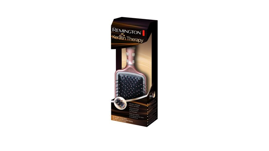 REMINGTON Paddelbuerste Keratin Therapy B95P