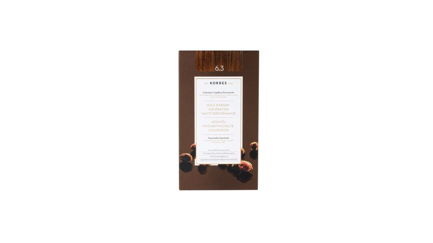 KORRES Argan Oil Advanced Colorant Honey Dark Blond