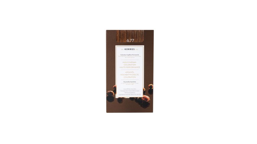 KORRES Argan Oil Advanced Colorant Gianduja