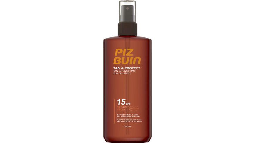Piz Buin Tan Protect Sonnenoelspray LSF 15