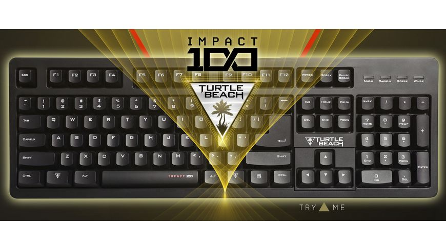 Turtle Beach Impact 100 Gaming Keyboard