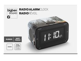 Radiowecker RR30 New York Taxi Soft Touch Oberflaeche